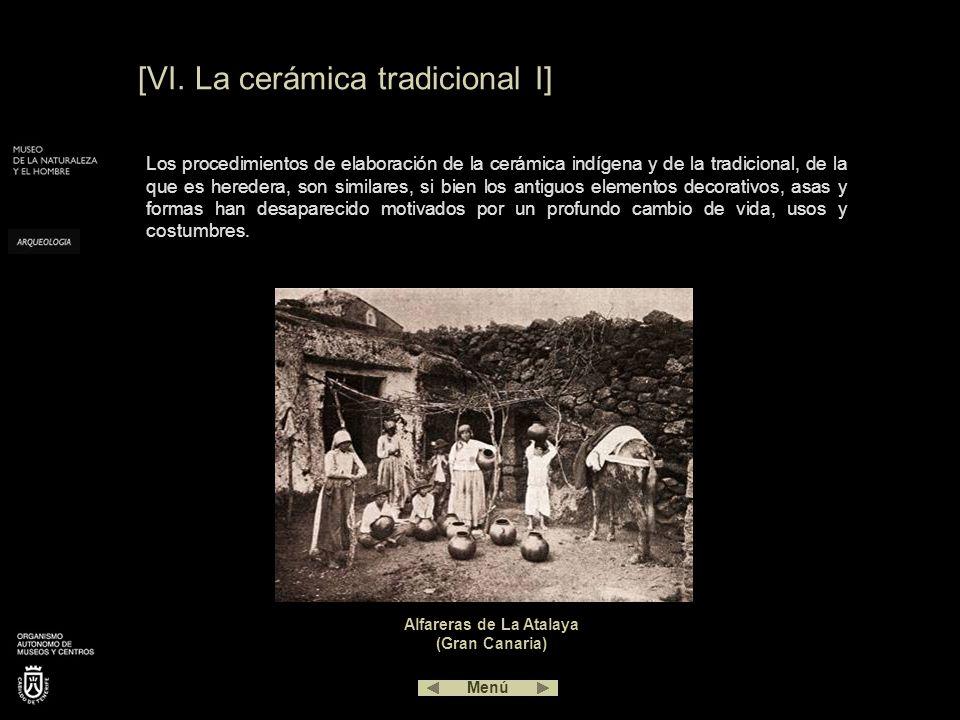 [VI. La cerámica tradicional I]